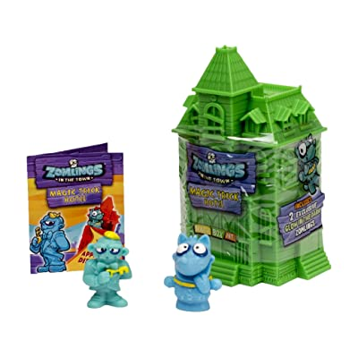 Zomlings Magic - 2 Figures & Magic Trick Hotel (Series 1): Toys & Games