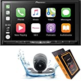 """Pioneer AVH-W4500NEX Double DIN Wireless Mirroring Android Auto, Carplay In-Dash DVD/CD Car Stereo Receiver, 7"""" Touchscreen +"""