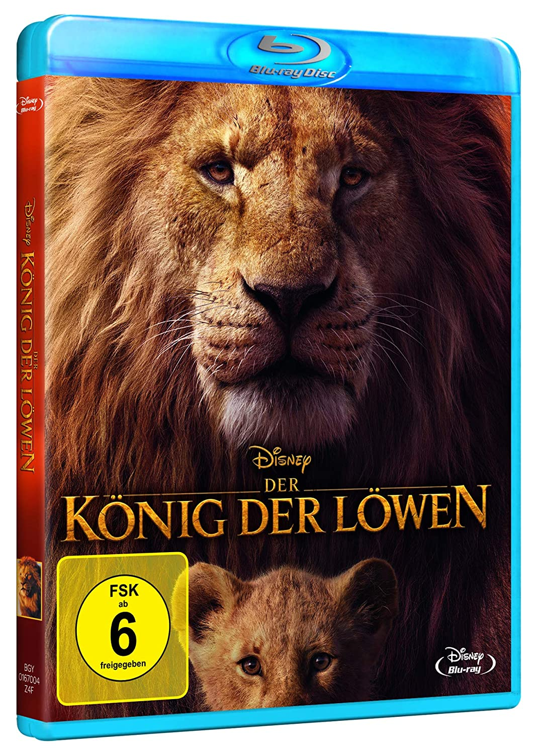 Der Konig Der Lowen Neuverfilmung 2019 Blu Ray Amazon De