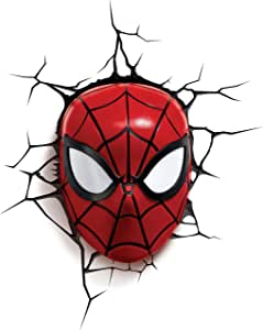 3D Light FX Marvel Spider-Man 3D Deco LED Wall Light