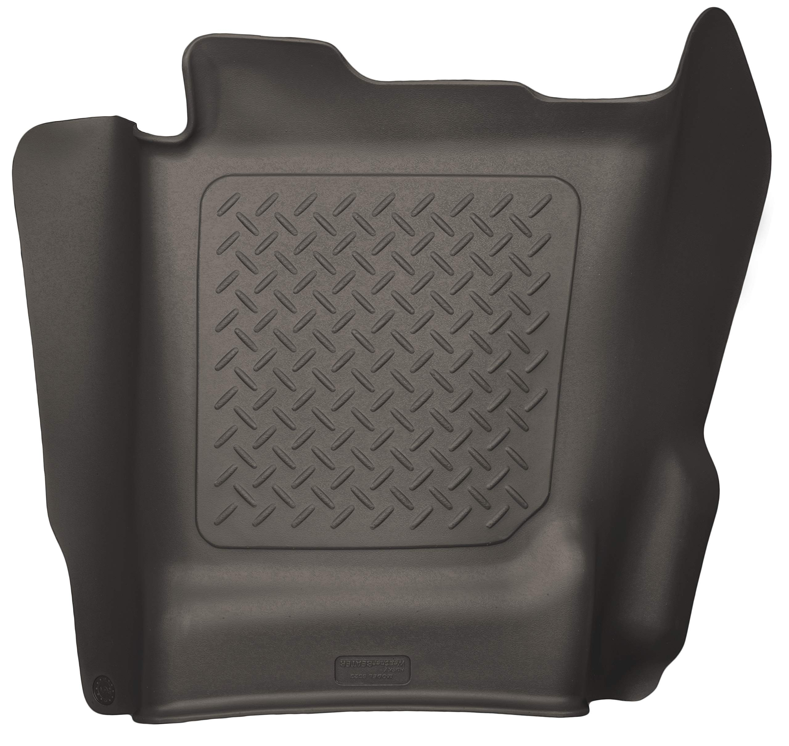Husky Liners 53150 Cocoa Center Hump Floor Liner Fits 14-18, 2019 Legacy/Sierra 1500, 15-19 Chevrolet Silverado 2500/3500