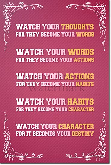 Wintle Art Print Photo Poster 12x8 Inch Unique Gift Motivation Inspiration Thinking Poem by Walter D Iconic Motivational Writing