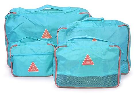 Hauptstadtkoffer - Organizador para maletas , azul claro (azul) - HK-O4-