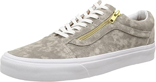 Vans U Old Skool Zip Suede, Baskets Basses Mixte Adulte