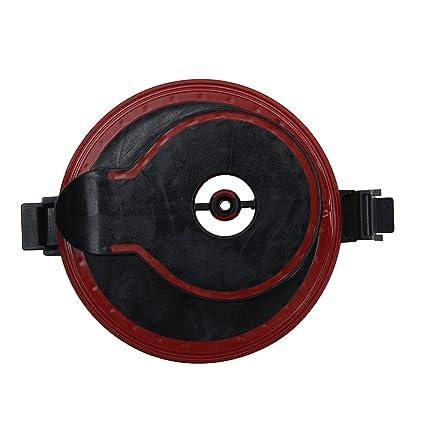 Fluval Flügelrad-Abdeckung schwarz/rot für Fluval 306/406