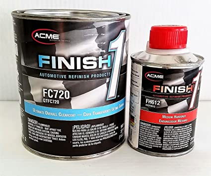 Sherwin Williams Auto Paint >> Amazon Com Fc 720 Quart Kit W Fh 612 Hardener A Sherwin Williams