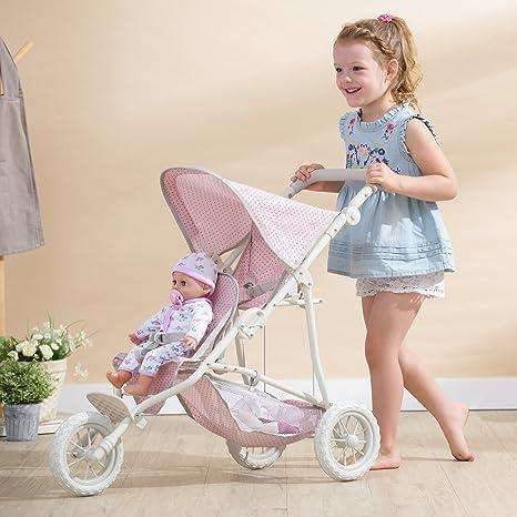 Babypuppen & Zubehör Olivias World 16 Zoll Babypuppen Puppen-Kinderwagen Buggy OL-00002 Puppen & Zubehör