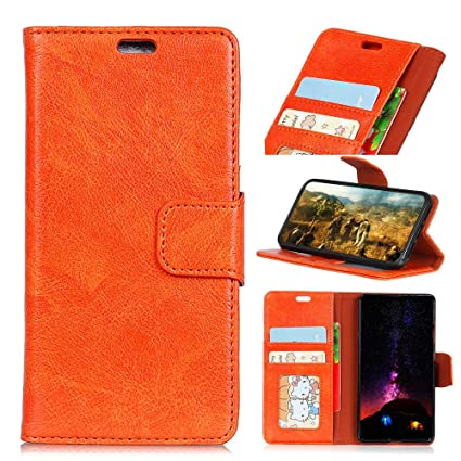 Amazon com: Scheam Huawei Y5 (2018) Leather Wallet Case Phone Case