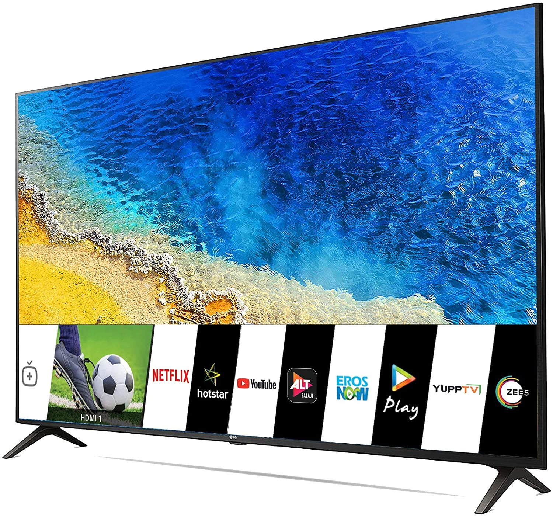 4K UHD Smart LG 55 inches LED TV 55UM7290PTD – Ceramic BK + Dark Steel Silver