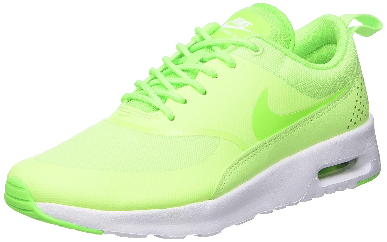 vert (Ghost vert Elctrc vert blanc) Nike Air Max Thea, paniers Basses Femme