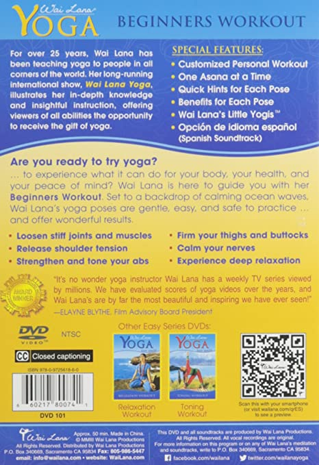 Amazon.com: Wai Lana Yoga: Easy Series: Wai Lana: Movies & TV