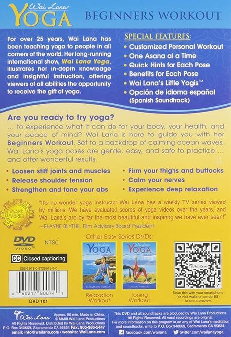 Amazon.com: Wai Lana Yoga: Easy Series: Wai Lana: Movies & TV