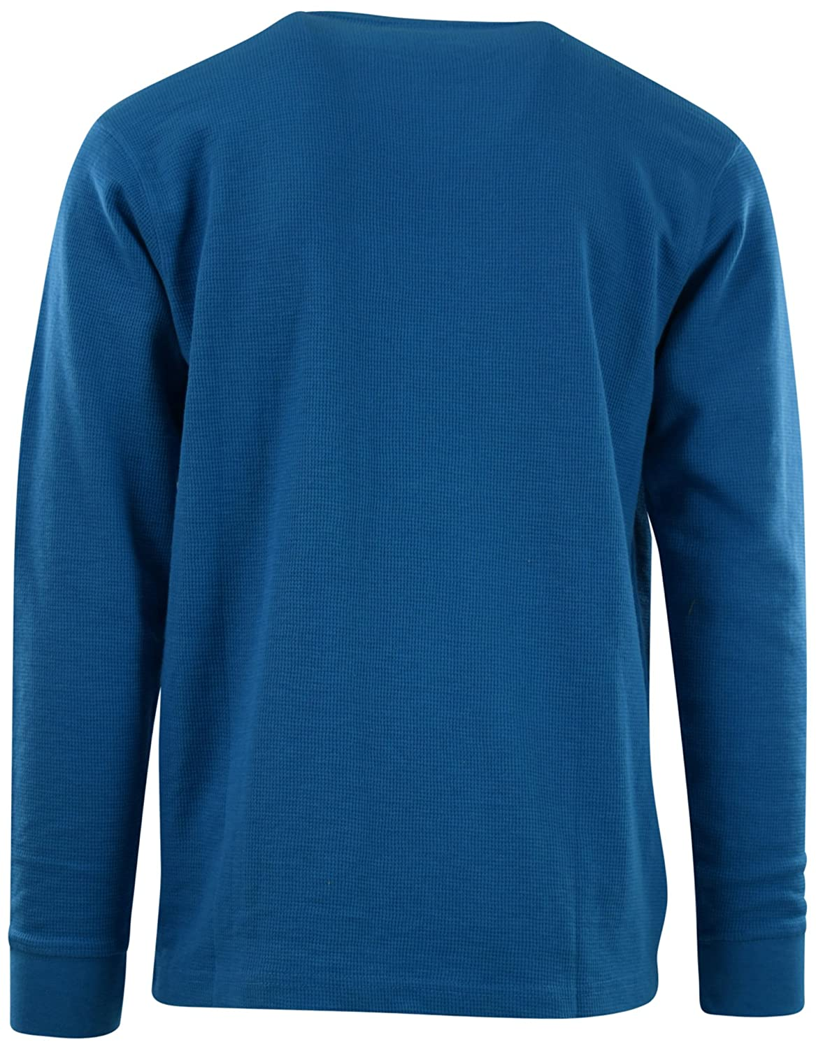 ChoiceApparel Mens Long Sleeve Thermal Waffle Pattern Crew Neck Shirts