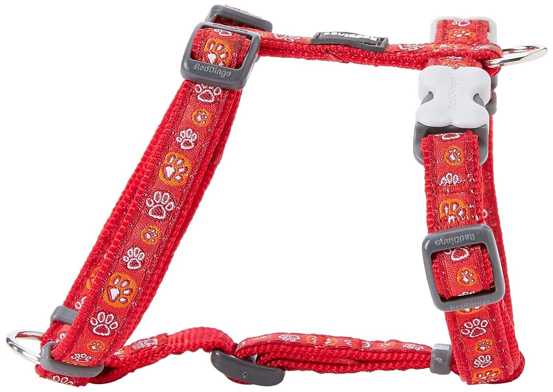 Arn/és ajustable con dise/ño de huellas para perros Red Dingo