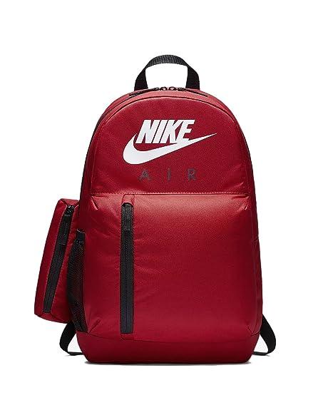 Nike Y NK ELMNTL BKPK-GFX, Mochila Unisex Infantil, Multicolor (Gym Red