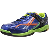 Yonex Exceed Plus 505 Pro Badminton Shoes (Blue/Orange)