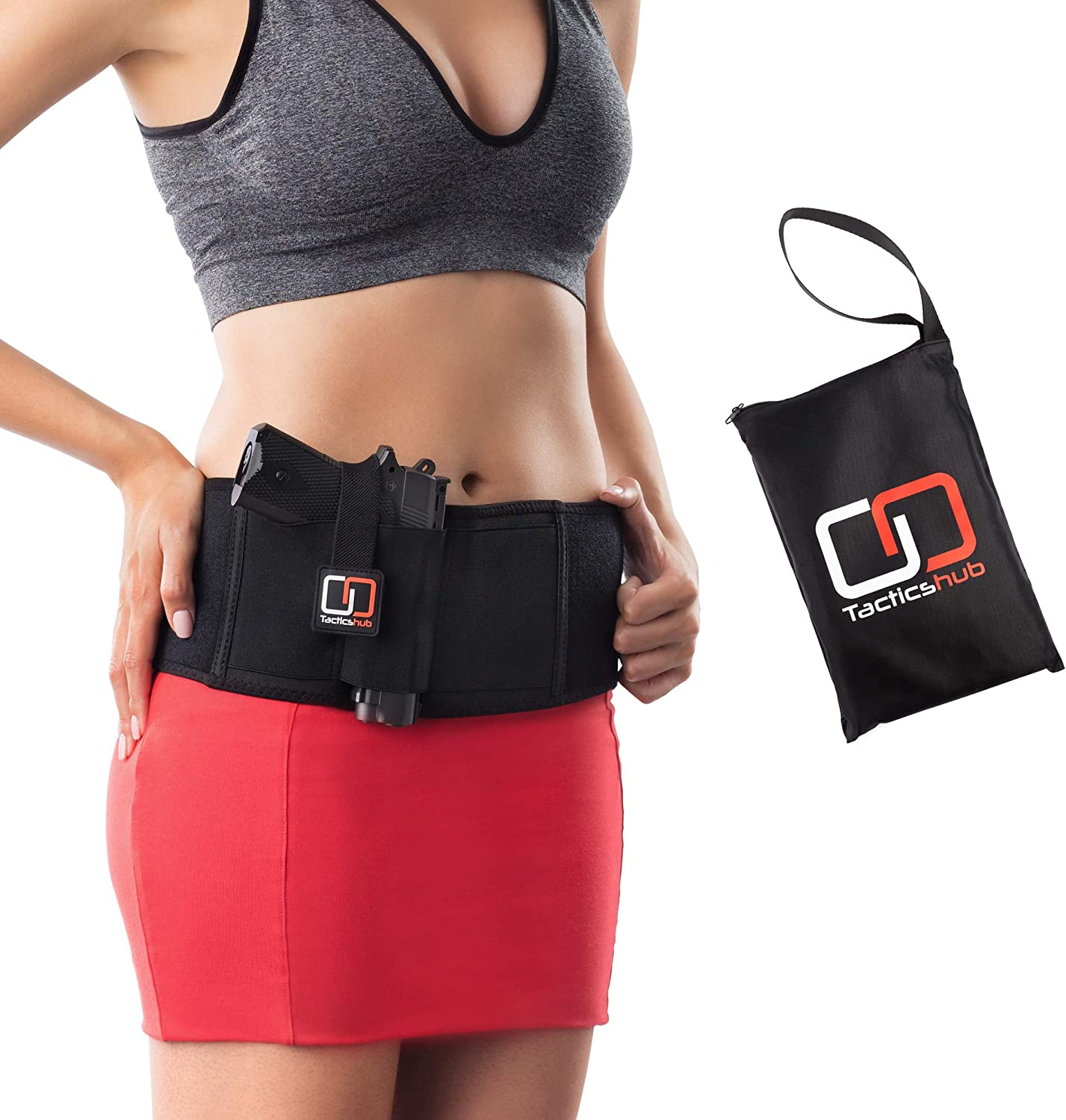 Tactics hub Belly Band Holster for Concealed Carry