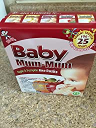 Amazon.com : Hot-Kid Baby Mum-Mum Vegetable Flavor Rice