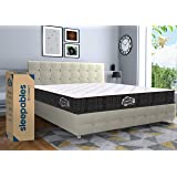 Centuary Mattresses Sleepables 8 Inch Hybrid Memory Foam Pocket Spring Mattress (78x72x8 Inch, King)