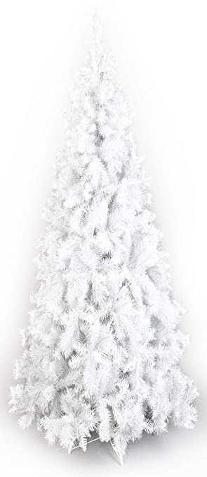 Contemporary Christmas Trees Uk.Vert Lifestyle Deluxe Artificial Christmas Trees White