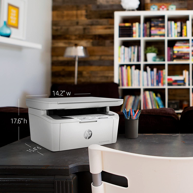 Scansione Bianco HP LaserJet Pro M28W Stampante Multifunzione Wireless Copia