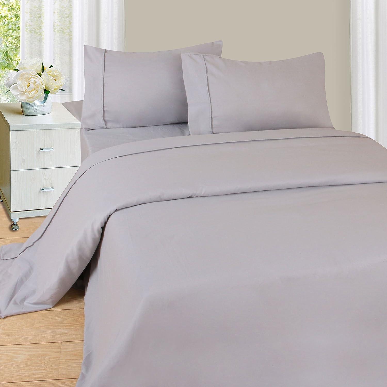 Lavish Home 1200 Sheet Series, Twin X-Large, White 66-MF75S-TXL-WHT