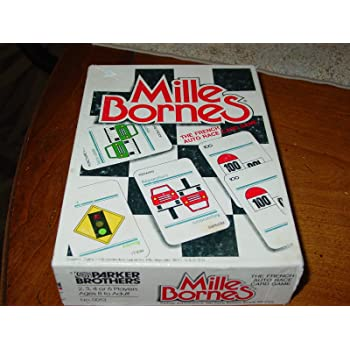 mille bornes the french auto race card game toys games. Black Bedroom Furniture Sets. Home Design Ideas