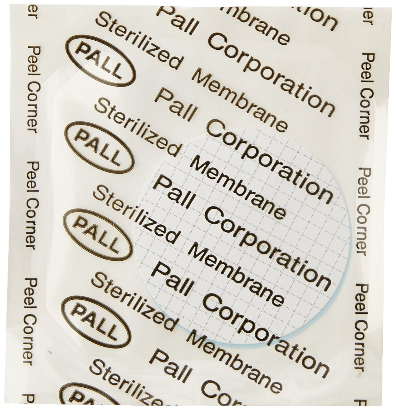 Pall 66068 Metricel GN-6 Membrane Filter, Grid Pattern, 0.45 um Pore Size, 47 mm Diameter (Pack of 1000)