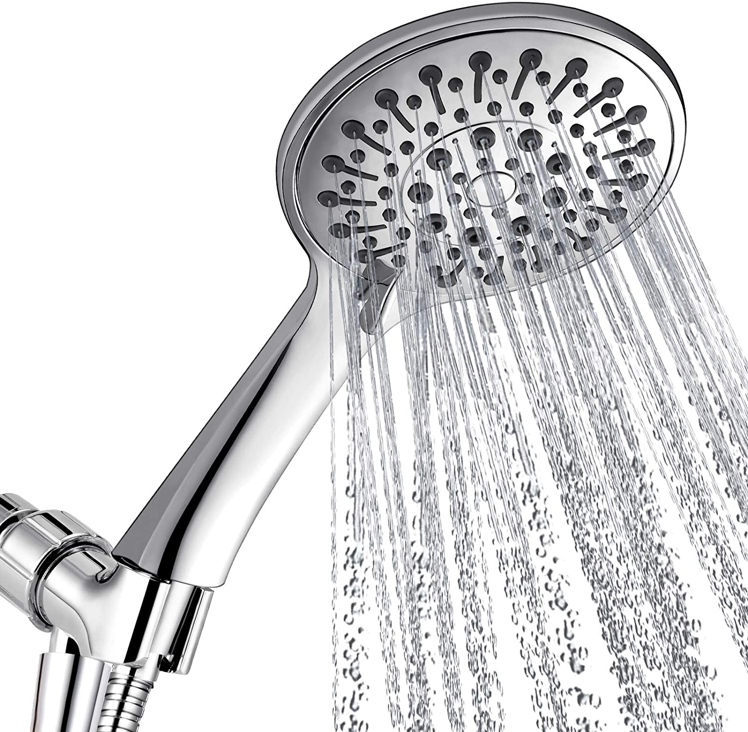 40% Off Coupon – Shower Head With Handheld and 6 Spray Settings