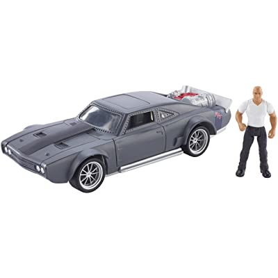 Fast & Furious Stunt Stars Dom & Ice Charger Vehicle: Toys & Games