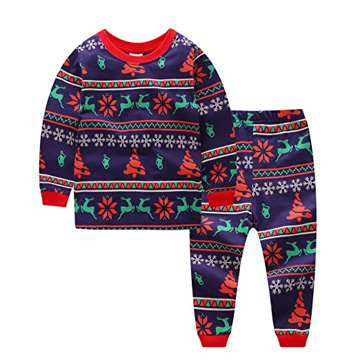 f36b3f571 Amazon.com  Baby House Toddler Kid Boys Girls Christmas pajama T ...