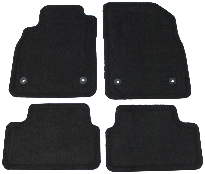 Genuine Jeep Accessories 82210119AE Dark Gray Carpet Floor Mat