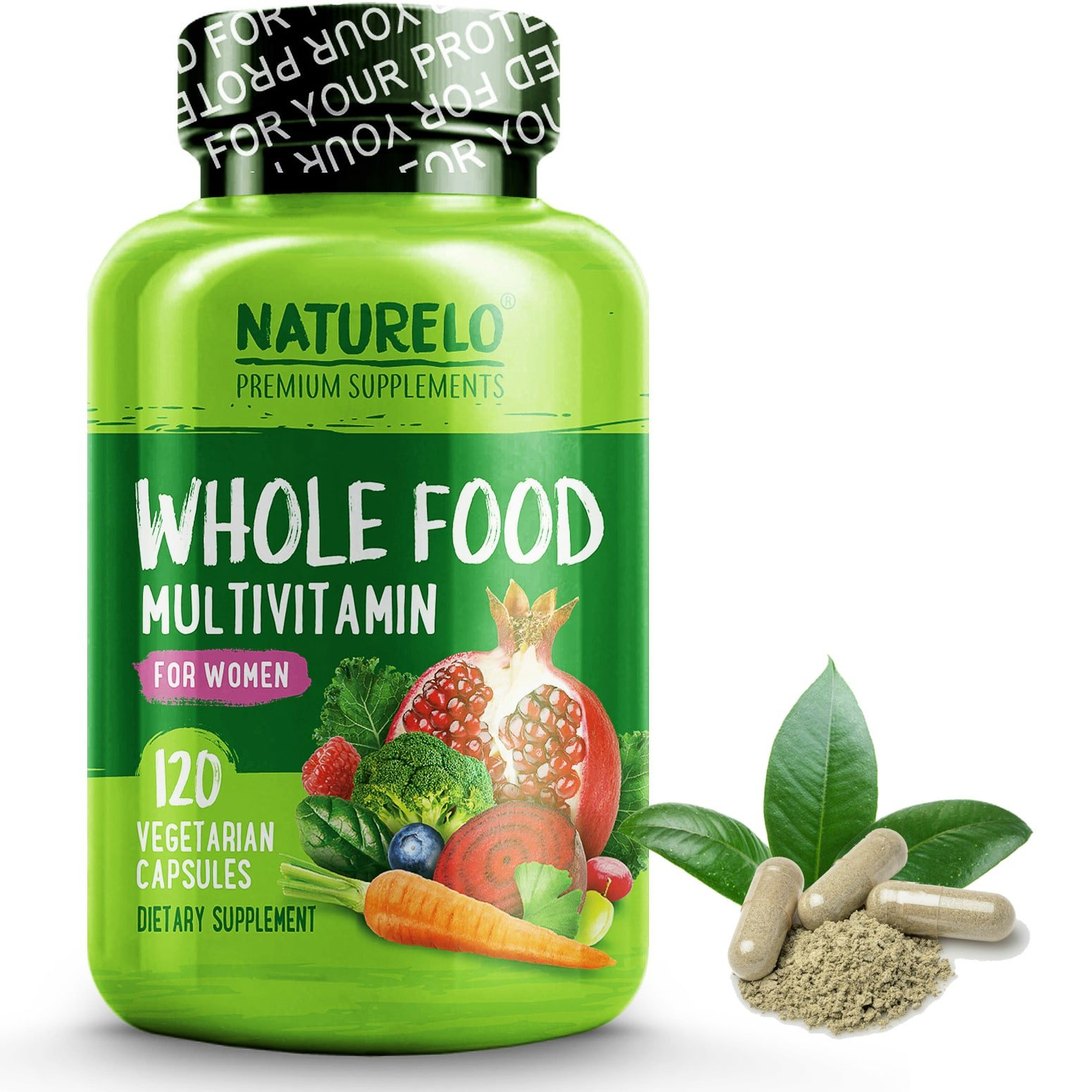 Amazon.com: NATURELO Whole Food Multivitamin for Men - with Natural Vitamins, Minerals, Organic