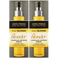 John Frieda Sheer Blonde Go Blonder Controlled Lightening Spray, 3.5 oz, 2 pk