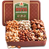 Two Pound Assorted Roasted Nuts Gift Tin