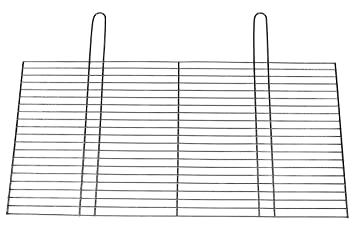 Grillrost 80x50cm mit Klappgriff Grill Kamim Grillgitter BBQ Ersatz Rost 4mm Ø