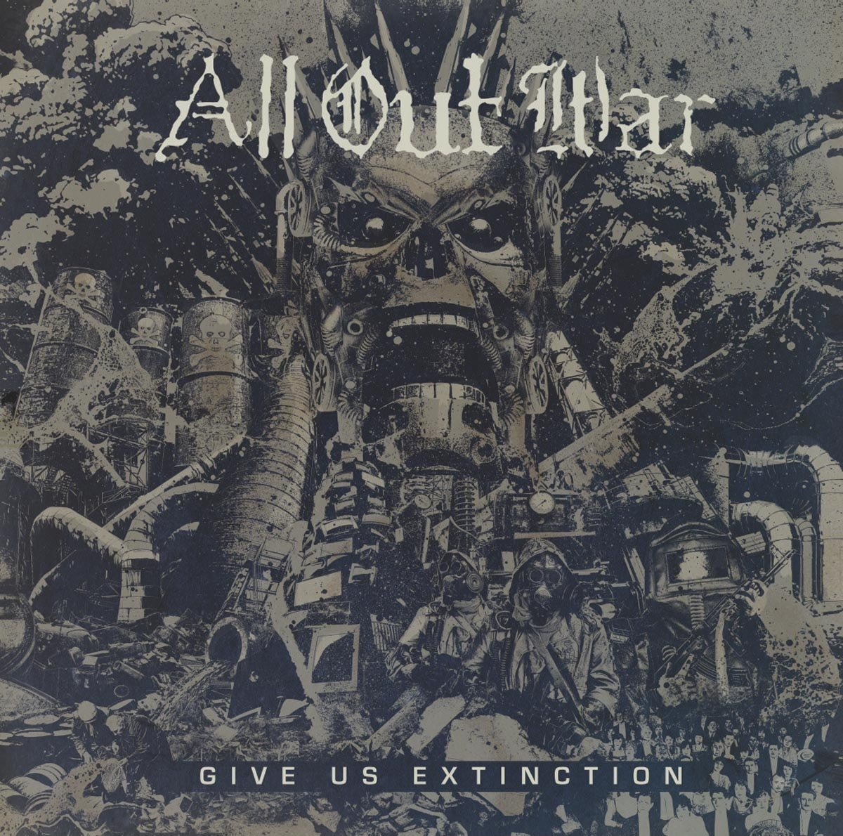 All Out War - Give Us Extinction (CD)