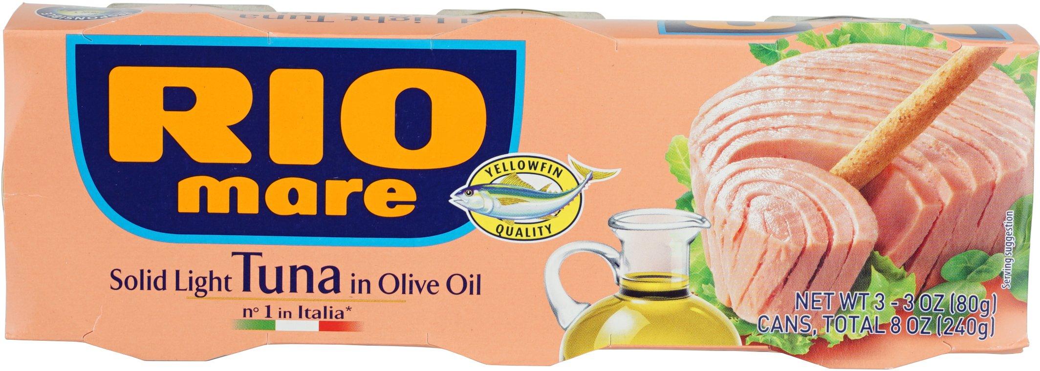 Rio Mare Solid Light Tuna in Olive Oil Can, 240 Gram