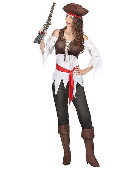 Disfraz pirata mujer - S: Amazon.es: Juguetes y juegos