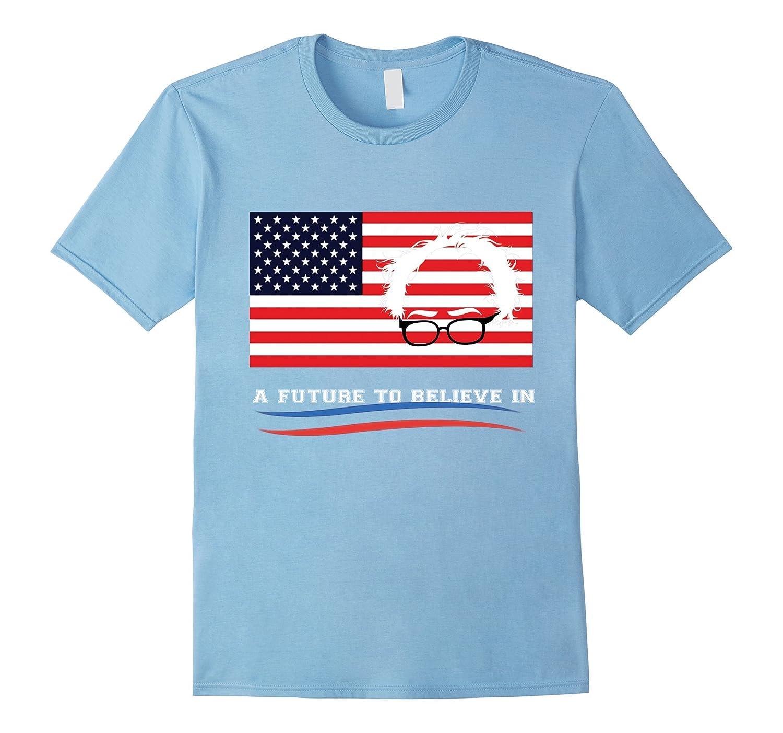 Bernie Bird Shirt - President 2016 Sanders Peace Bern Birdie-CL