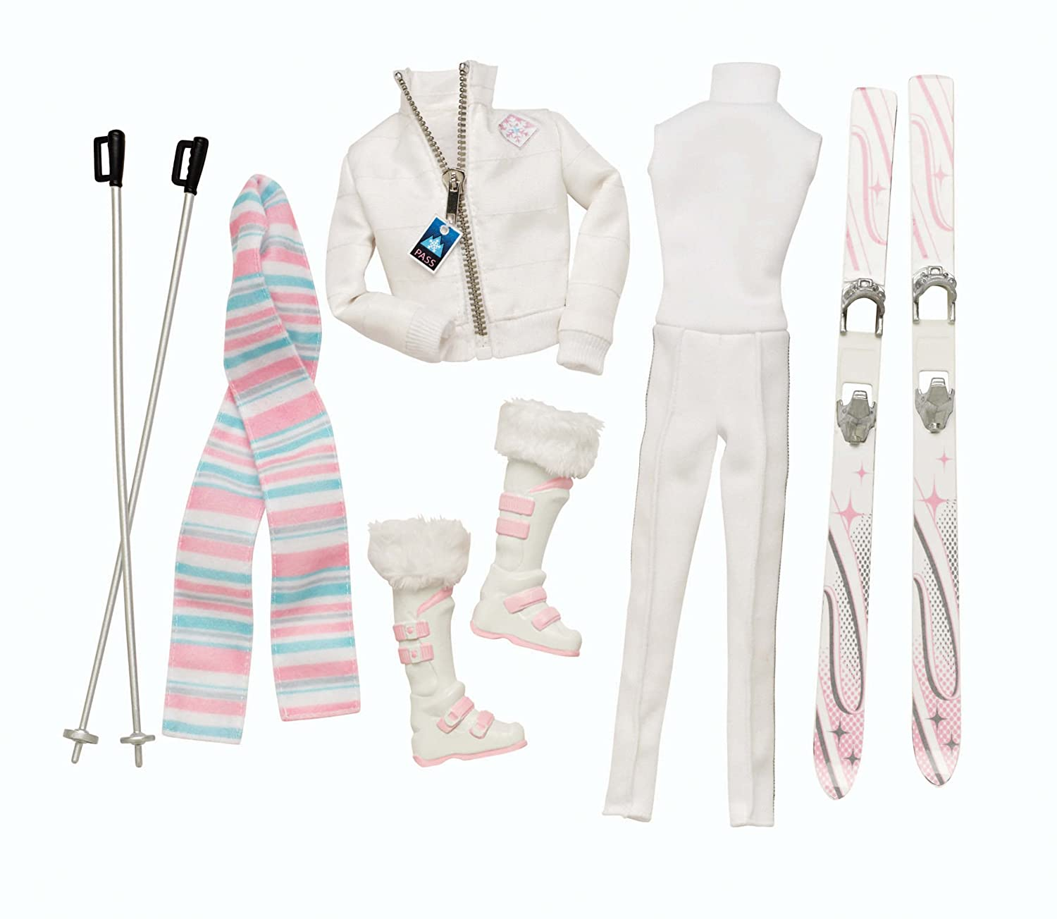 Barbie Collector Look Kollektion  Winter Weekend Ski Fashion Pack