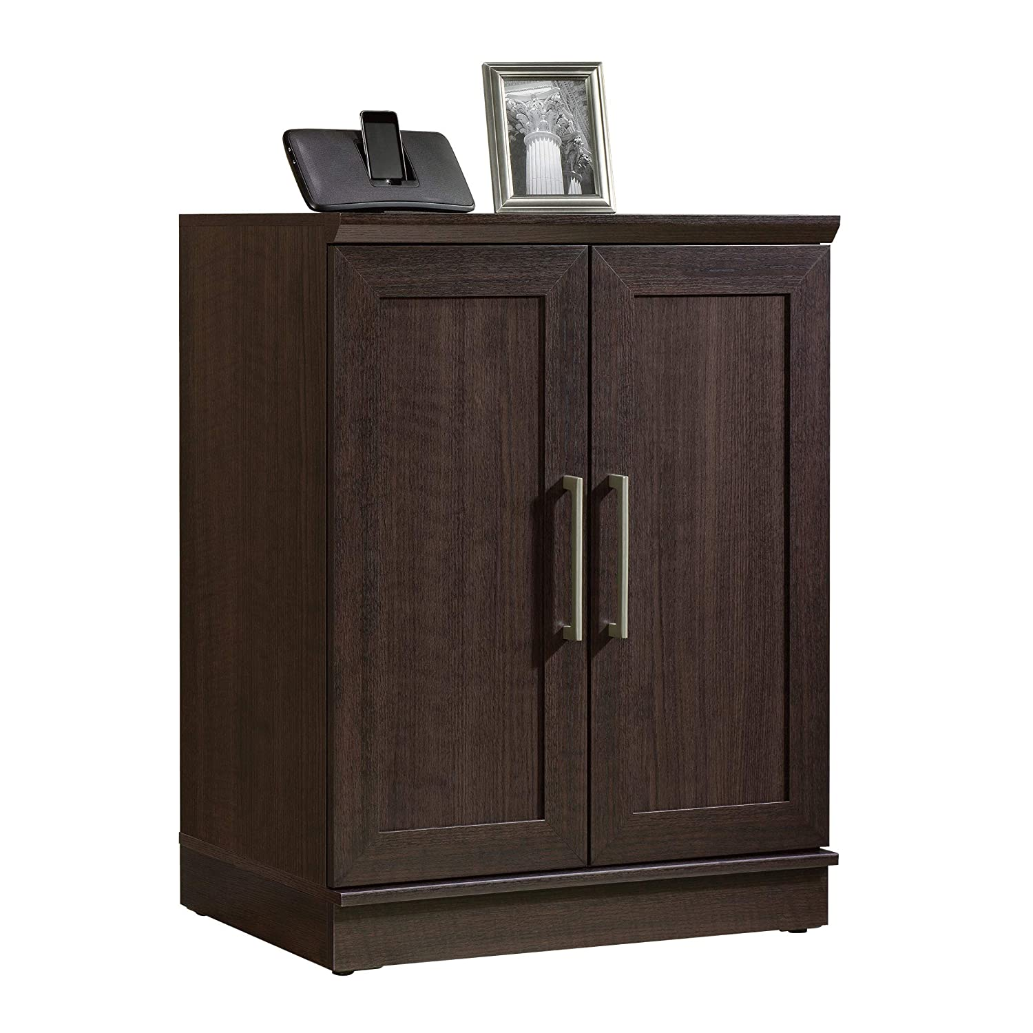 "Sauder 411591 Homeplus Base Cabinet, L: 29.61"" x W: 17.01"" x H: 37.40"", Dakota Oak finish"
