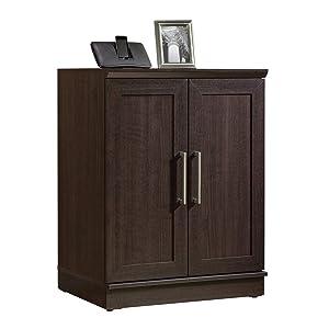 "Sauder 411591 Homeplus Base Cabinet, L: 29.61"" x W: 17.01"" x H: 37.40"", Dakota Oak finish"