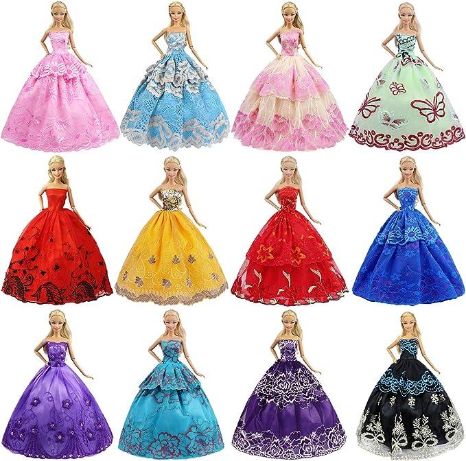 Fashion handmake Wedding Dress Fashion Clothing Gown For  doll BLUS