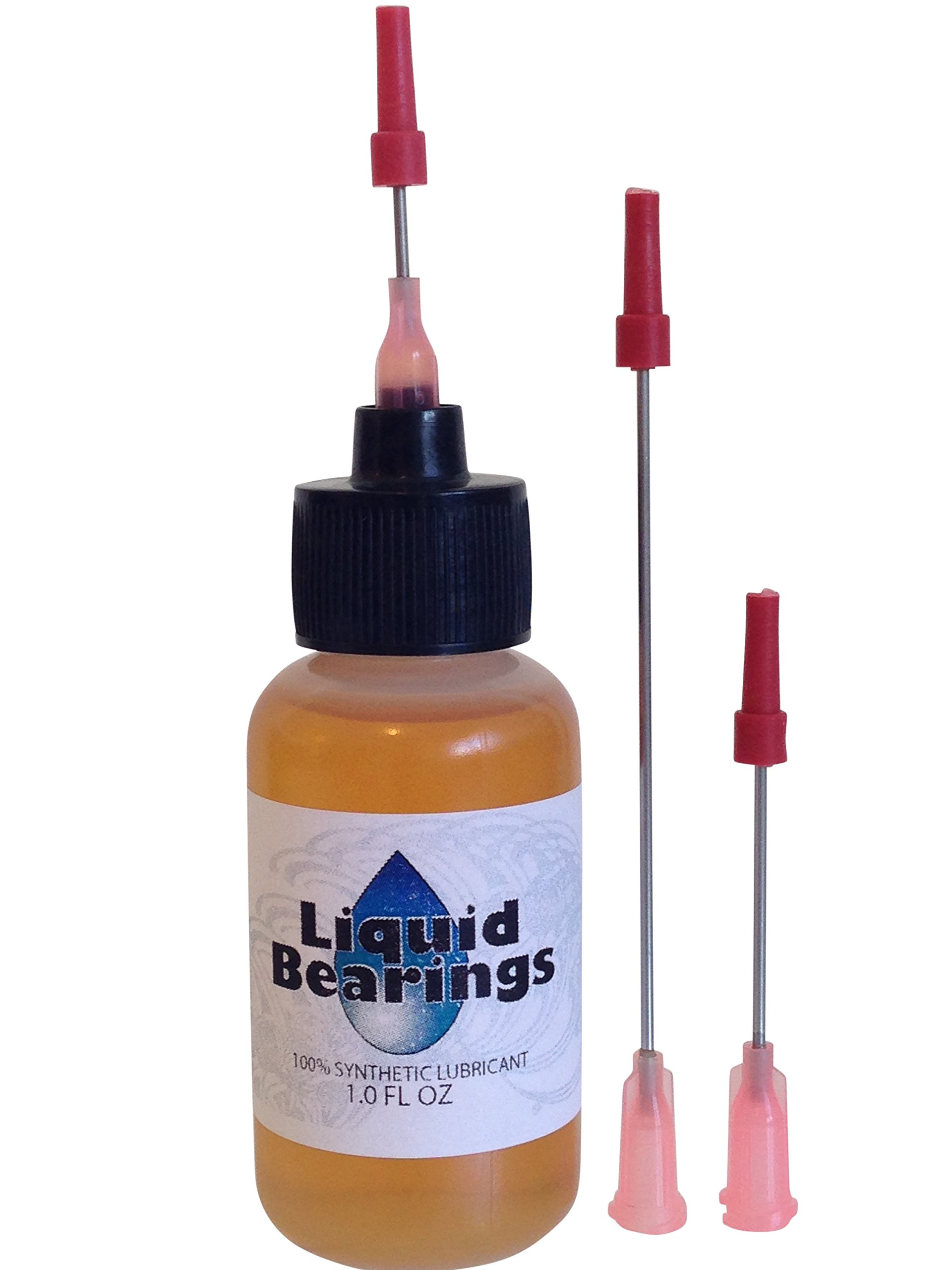 Liquid Bearings 100%-synthetic oil for all sunroof lubrication, use it on slides, motors, latches, any moving parts, never becomes gummy, gets sticky mechanisms moving again! (1 oz. w/3 needles)