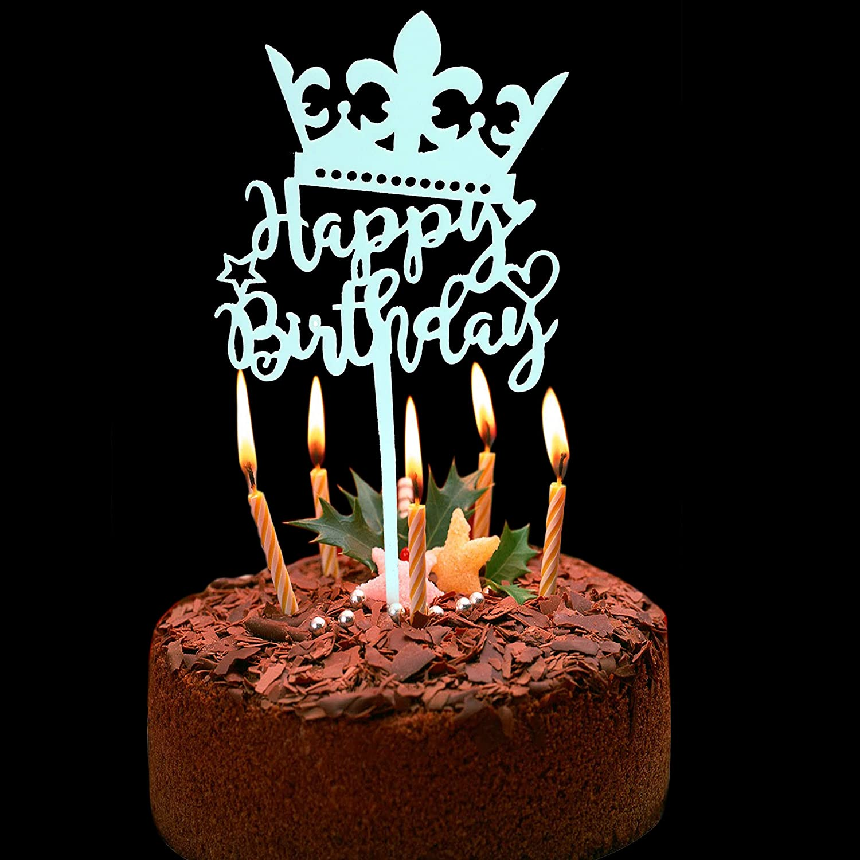 Wondrous Shopperskart Presents Happy Birthday Cake Topper For Boys Kids Funny Birthday Cards Online Fluifree Goldxyz