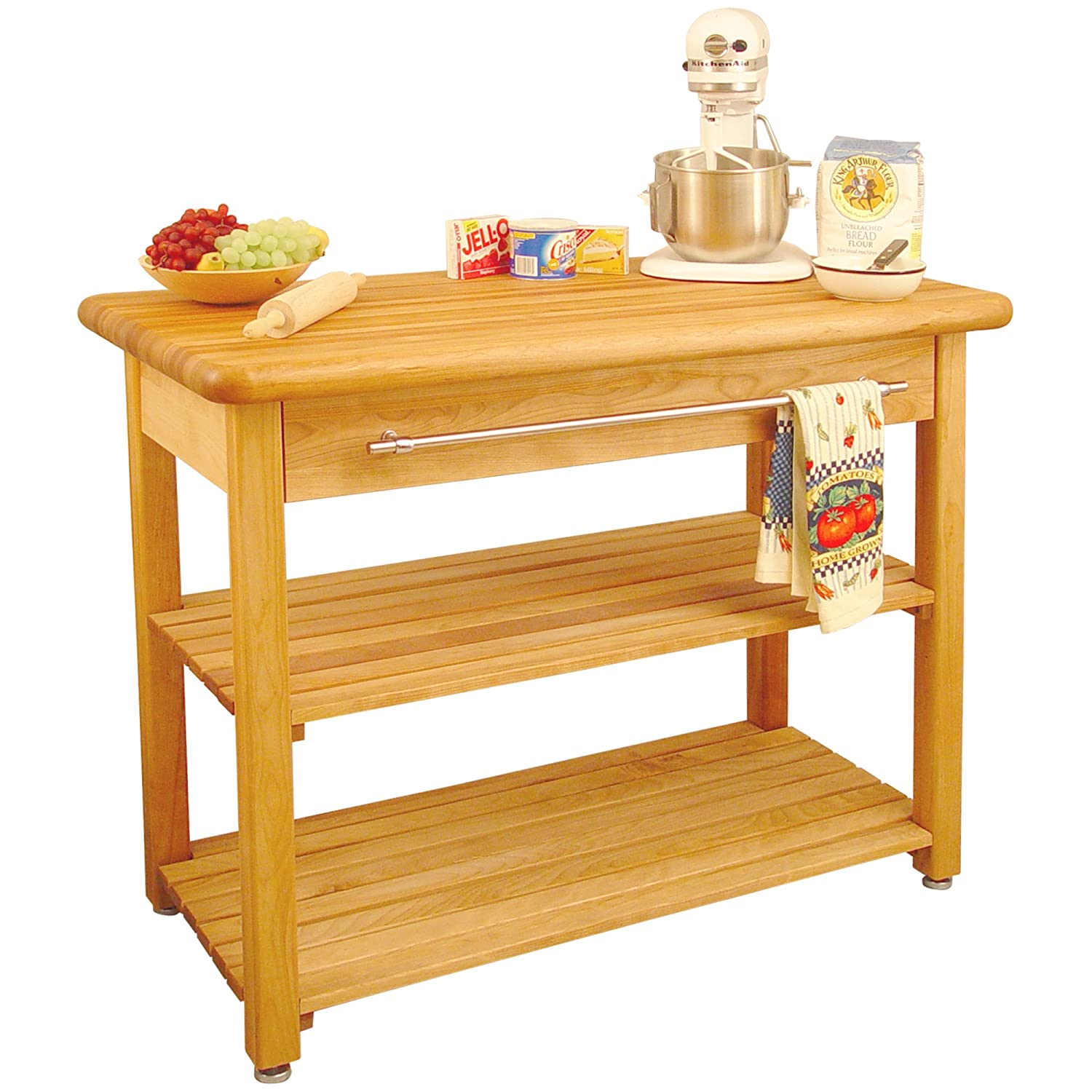 catskill craftsmen contemporary harvest table kitchen