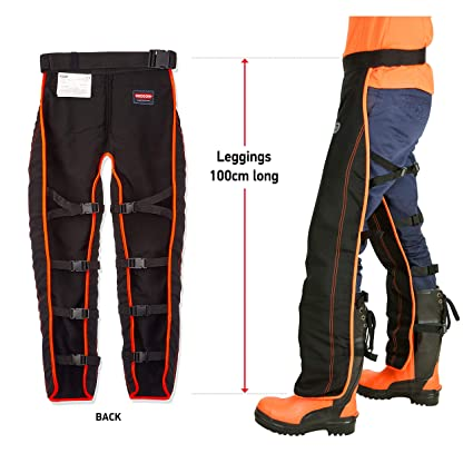 d0d94f13a73 Oregon 575780 Universal Type A Chainsaw Safety Leggings (Front Protection  Only)