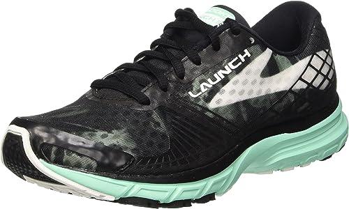 Brooks Launch 3 W, Zapatillas de Running para Mujer, Black/White ...