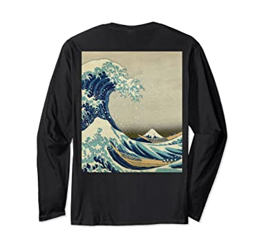 874e093313d56 Unisex The Classic Japanese Great Wave off Kanagawa by Hokusai Small Black